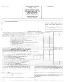 Gross Receipts Tax Return Form - Nauvoo - Alabama