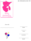 Makeover Party Invitation Template