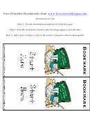Classroom Bookmark Template
