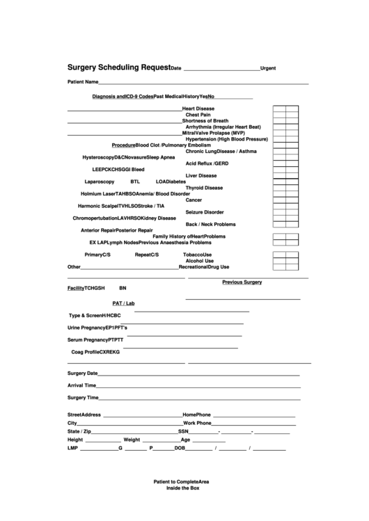 Top medical clearance form for surgery templates free to download medical clearance form for surgery templates surgery scheduling request form pronofoot35fo Images