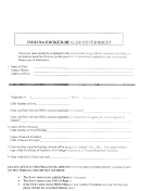 Indiana Broker-dealer Cover Sheet
