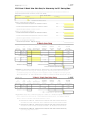 Form 2793 - 2010 24 And 12 Month Sales Ratio Study For Determining The 2011 Starting Base