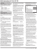 California Form 541-es - Estimated Tax For Fiduciaries Wit Instructions - 2010