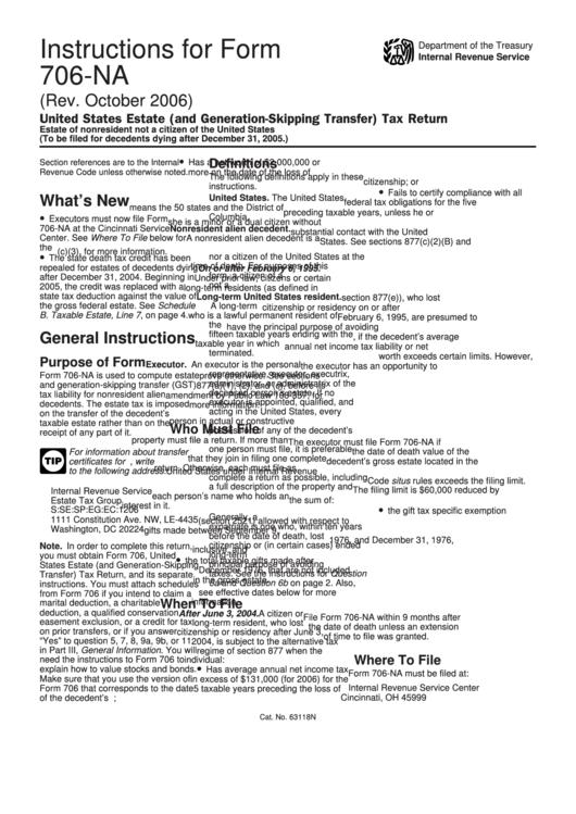 Instructions For Form 706 082017 Internal Revenue Service Inducedfo