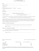 Cell Phone Allowance Request Form