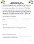 Inbound Permission To Travel Form