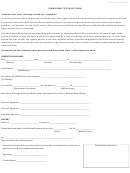 Form Dhhs - Permission To Travel Form