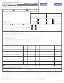 Form Ia 1120s - Iowa Income Tax Return For An S Corporation - 2006
