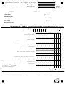 Form Rd-107 - Convention & Tourism Tax - Food Establishment - City Of Kansas City - Missouri