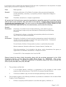 State Of Louisiana - Surplus Property Purchase Agreement And Certification Form