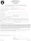 Incorporated City Priority List Liquor License Application Form - Alcohol Beverage Control -idaho State Police