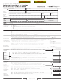 Form 540nr - California Nonresident Or Part-year Resident Income Tax Return - 2005