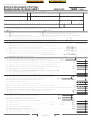 Form 540nr - California Nonresident Or Part-year Resident Income Tax Return - 2007
