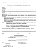 Form Wv/mcr-1701 - Application For Motor Carrier Road Tax Transporter's Permit