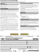 California Form 3538 (565) - Payment For Automatic Extension For Lps, Llps And Remics - 2007