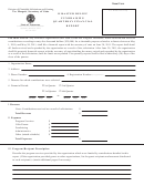 Form Ss-6082 - Disaster Relief Fundraising Quarterly Financial Report
