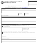 Form 49367 - Application For Section 319 Nonpoint Source Management Program Grant