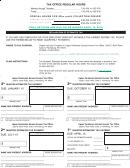 Declaration Of Estimated Tax