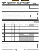 California Form Ftb 3805q - Net Operating Loss (nol) Computation And Nol And Disaster Loss Limitations - Corporations - 2006