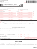 Form In-151 - Application For Extension Of Time To File Form In-111 Vt Individual Income Tax Return - 2010