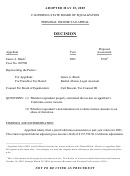 Personal Income Tax Appeal Form - California State Board Of Equalization