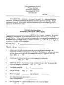City Of Grand Rapids Homestead Poverty Application Form Michigan - City Assessor's Office
