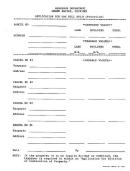 Form Tbs-5-98 - Application For Tax Bill Split (proration) Form Michigan - Assessor Department