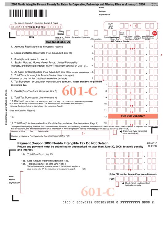 tax return form for partnership