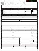 Form 4379 - Request For Information/audit Of Local Sales/use Tax Records