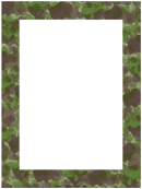 Camouflage Border Template