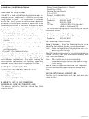 Instructions For Form Ef-2 - 2012