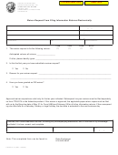 Form Ftb 6274 C3 - Waiver Request From Filing Information Returns Electronically