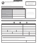 Form 36028 - Application For Pharmacist's License