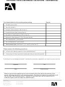 Prepared Food & Beverage Tax Return Form