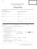 Refund Request Form - State Employees' Insurance Board