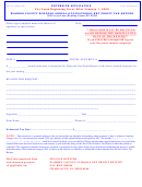 Extension Application For Warren County Schools Annual Occupational Net Profit Tax Return 2008