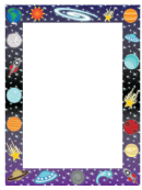 Space Border Template