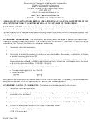 Form 08-4189 - Instructor Application For Barber, Hairdresser, Or Esthetician - Alaska Department Of Community And Economic Development