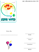 Clam Bake Party Invitation Template