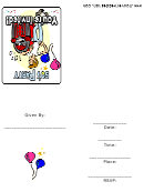50's Theme Party Invitation Template