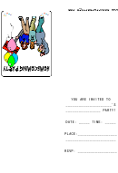 Home Coming Party Invitation Template