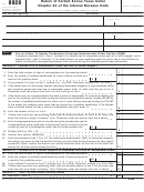 Form 8928 - Return Of Certain Excise Taxes Under Chapter 43 Of The Internal Revenue Code