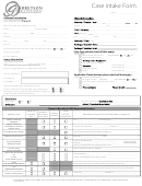 Case Intake Form