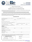 Transient Occupancy Tax Registration Form - Kern County Treasurer-tax Collector