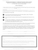 Form Bcs/cd-313 - Waiver Statement Form - Michigan Department Of Licensing And Regulatory Affairs