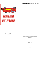 Fire Truck Rides - Fire Station Open House Invitation Template