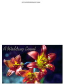 A Wedding Event Greeting Card Template