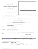 Form Mllc-3-cra - Limited Liability Company Statement Of Appointment Or Change