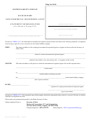 Form Mllc-3a-ncra - Noncommercial Registered Agent Statement Of Resignation