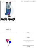 Nineties Theme Party Invitation Template